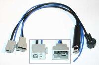 Antennenadapter (Set) ISO --> Honda/Mazda (GT13)