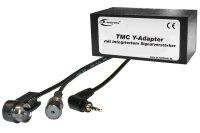 TMC Y-Adapter mit Verstärker Klinke 2,5mm