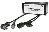 TMC Y-Adapter mit Verstärker für Garmin 2013...