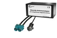 Diversity Antennen-Adapter mit Verstärkung - ISO