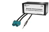 Diversity Antennen-Adapter mit Verstärkung - DIN