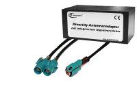 Diversity Antennen-Adapter mit Verstärkung - Fakra