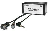 TMC Y-Adapter mit Verstärker Klinke 3,5mm (Achtung:...