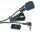 Mikrofon, Klinke 3,5mm, inkl. Clip- u. Klebesockel